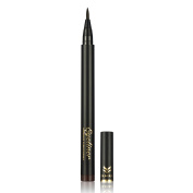 Ladygo Waterproof Liquid Eyeliner Pencil Precision Liquid Felt Tip Quick Drying Eye Liner Pen Long Lasting, Brown-2# 0ml