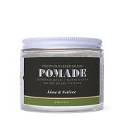 Detroit Barbers Matte Pomade - Lime & Vetiver