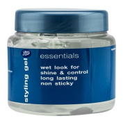 Boots Essential Styling Hair Gel Wet Look 250 ml.