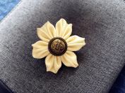 Handmade fashion Flower Hair Clip and Brooch Pin