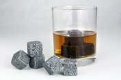 Whisky Sipping Stones Rocks Cooling Wine Coffee Tea Set of 8