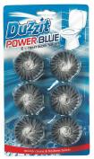 6 Packet Powder Blue Toilet Blocks