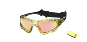 OceanGlasses - Australia - Polarised Sunglasses - Frame : Transparent Green - Lens : Revo Yellow