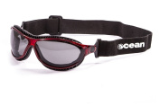OceanGlasses - tierra de fuego - Polarised Sunglasses - Frame : Transparent Red - Lens