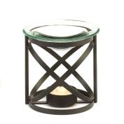 Koehler 15147 9.2cm Black Orbital Oil Warmer