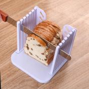 Vangoddy Detachable Compact Storage DIY Home Baking Bread Toast Cutter Slicer