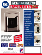 Larien Products 5400 Commercial Bagel Slicer