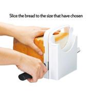 Leoy88 Bread Cutting Guide Thickness Adjustable Bread/Roast/loaf Slicer