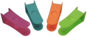 Zing! 93166 Nylon Bagel Cutter/ Bagel Clip, Sold as 1 Pieces, Colour May Vary