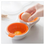 FTXJ Creative Egg Cookers Kitchen Microwave Oven Eggs Poacher Tools