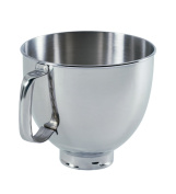 New K5thsbp Kitchenaid Stainless Steel Bowl w/ Handle Fits 4.7l Stand Mixers . By Fedex