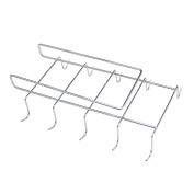Maggift Cup Storage Rack with 10 Hooks, Mug Holder Rack under Cabinet