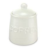 KOVOT Ceramic Coffee Jar With Air-Sealed Lid - 590ml
