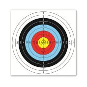 BCP 20PCS Multicolor 40cm 10 Ring Target Paper
