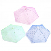 Dreammy New Foldable Food Umbrella Cover Fly Wasp Insect Net Picnic Kitchen Mesh Net