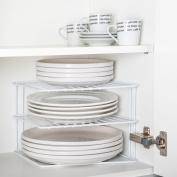 Corner Add A Shelf Plate Rack, Kitchen Storage Idea, Cupboard Organiser