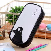 Pencil Case,Fashion Students Waterproof Multifunction Big Capacity Pen Bag With Double Zipper