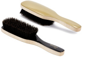 Torino Pro #240 / Boar Bristle Paddle Hair Brush / Extra long Medium 100% Pure Bristles / Great for thinning hair / Wont hurt your scalp /Great 360 wave brush