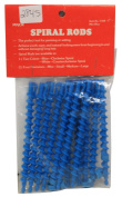 Spiral Perm Rods Mini Blue