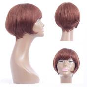 YUSHUO Beauty Brazilian Human Hair Women Stright Short Wigs