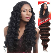 Harlem125 Synthetic Crochet Hair Kima Braid - OCEAN WAVE 50cm