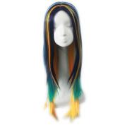 SunshineSusie 60cm New style grey Fashion Long straight women's Girl full Hair Wig cosplay