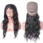 Human Hair Wigs With Lace Front 360 Lace Frontal Wigs With Brazilian Virgin Hair Pre Plucked Hair Line Front Lace With Baby Hair With Cap