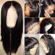 MeiXin Hair 360 Lace Frontal Wigs for Black Women Straight 360 Lace Wigs Glueless Brazilian Virgin Human Hair Wigs with Baby Hair