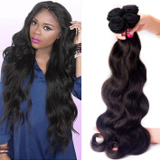 Zorssar Hair 10A Unprocessed Virgin Brazilian Hair Body Wave Weave 1 bundle 100% Remy Human Hair Extensions Natural Colour 100g/pc Can be Dyed and Bleached