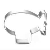 WJSYSHOP Airship Blimp Cookie Cutter - Stainless Steel
