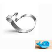 WJSYSHOP Whale Cookie Cutter - Stainless Steel