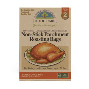 PARCHMENT BAGS, NON STK, XL , Pack of 8