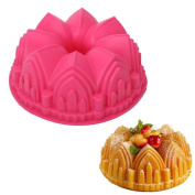 Silicone Collection Cathedral Bundt Pan Chiffon Savarin Cake Mould Decoration Baking Tool Home Kitchen Supplies