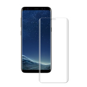 Samsung Galaxy S8 Plus Screen Protector, 3D Curved Full Screen Premium Tempered Glass Screen Protector 9H Hardness Anti-Fingerprint Toughened Glass Protective Film Easy Bubble-Free Installation Ultra Fit For Samsung Galaxy S8 Plus - Transparent