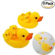 M-jump Jumbo Rubber Duck Bath Toy - Rubber Duck Family Bath set - Floating Bath Tub Toy