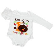 Keepfit Newborn Infant Baby Long Sleeve Halloween Print Romper Jumpsuit Clothes