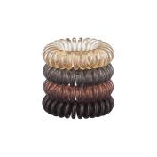 Kitsch 4 Piece Hair Coil Set, Brunette