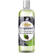 Artizen Grapeseed Oil – 470ml (Ounce) Bottle (100% Pure & Natural) – Perfect Carrier Oil for Diluting Essential Oils – Extracted from Grape Seed – Work Great as a Massage Oil, Aromatherapy, and More!