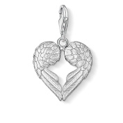 Thomas Sabo Women-Charm Pendant Wings Charm Club 925 Sterling Silver 0613-001-12