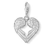 Thomas Sabo Women-Charm Pendant Wings Charm Club 925 Sterling Silver 0613-001-12