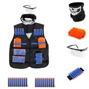 4inLoveMe Breathable Tactical Vest Kit for Nerf N-Strike Elite Tactical Vest Kit