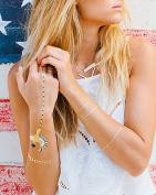 Lulu dK Temporary Jewellery Tattoos, Golden I