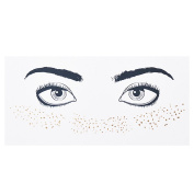 Gracefulvara Fashionable Personalised Freckles Temporary Face Stickers F17