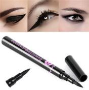 DAXUN Eyeliner Pen, Makeup Cosmetic Liquid Eye Liner Pencil Make Up Tool Professional 24 Hour Waterproof Eyeliner Long Lasting All Day / Night Wear