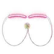 Quartly LED Eyelashes Eyelid False Eyelashes For Fashion Icon Saloon Pub Club Bar Party