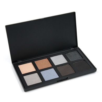 Miskos 8 Colour Eyeshadow Palette Matte and Shimmer Cosmetic Set Highly Pigmented Natural Nude Warm Neutral Eye Shadow Makeup Kit 24g (8C)