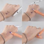 Ecosin Fashion Tattoo Eyebrow Design Remove Skin Marker Pen Magic Eraser Beauty Makeup Cleanser