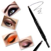Waterproof Smudgeproof Longlasting Eyebrow Pencil Brow Liner Cruelty Free Sweatproof Drawing Eye Brow with Brush for Girls Women Novice