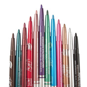 DWD 12pcs Cosmetics Makeup Waterproof Eye Liner Pen