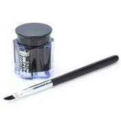 Cosmetic Brush + Makeup Water Resistant Eyeliner Gel